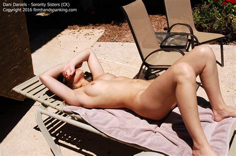 Melanie Spanks A Naughty And Naked Dani Daniles Cutiepies Sexy Spanking