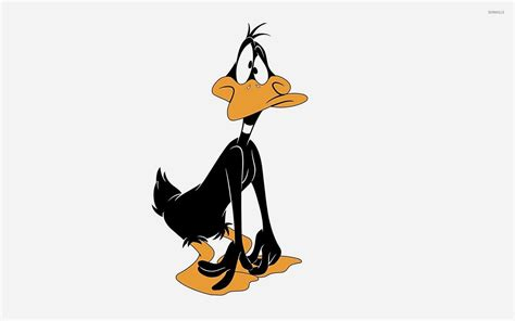 wallpaper cartoon sad sad and surprised daffy duck wallpaper cartoon
