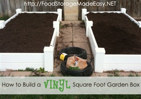 build a square foot garden wired how to wiki how to build a vinyl square foot garden box