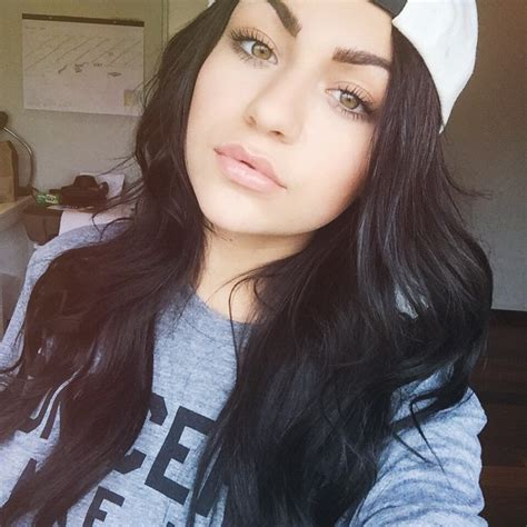 russet colored hair celebrate andrea russett s 10 most glam hair makeup