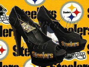 details about pittsburgh steelers shoes platform