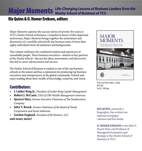 Tcu Mba Course Catalog by Book Catalog 2017 By Tcu Press Issuu