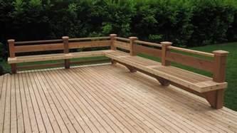 bench railing cedar deck and bench in bellevue deck