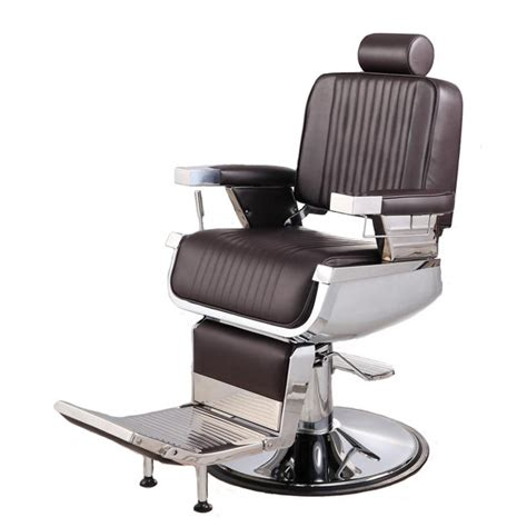 In Barber Chair by Quot Constantine Quot Barber Chair In Soft Chocolate Brown
