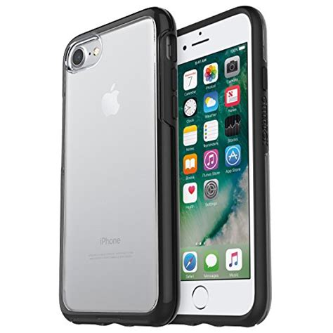 Otterbox Symmetry Black Clear For Iphone 6s6 Original Asli otterbox 77 53952 otterbox symmetry clear series for iphone 8 7 retail packaging black