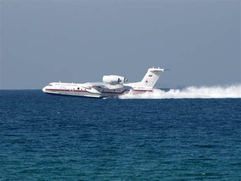 russian flying boat jet beriev be 200