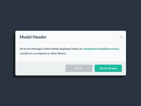 ui pattern modal window modal popup from flat ui pro by designmodo dribbble