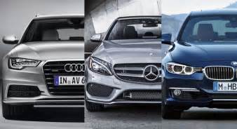 bmw vs audi vs mercedes reliability