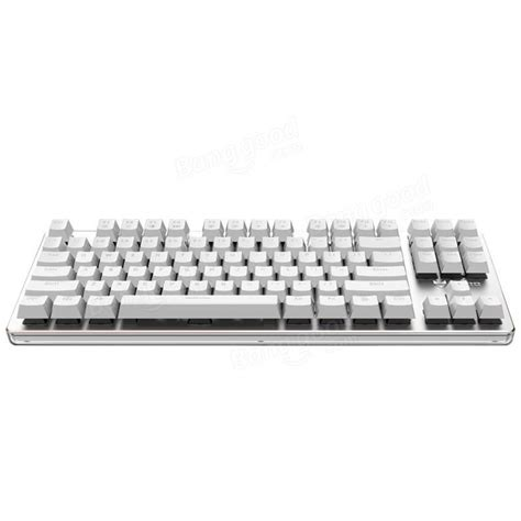 Keyboard Imperion Mech7 Rgb 87 Key Mechanical Keyboard rapoo v500 rgb backlight white mechanical gaming keyboard 87 black blue brown switches sale