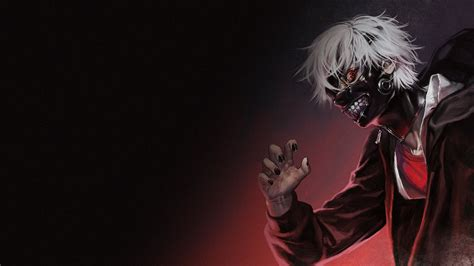 wallpaper anime kaneki ken as a ghoul tokyo ghoul gif 92148 ken kaneki mask full hd wallpaper and hintergrund