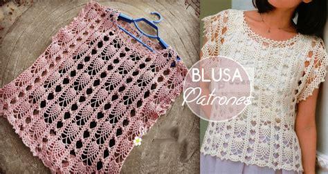 blusa tejida a crochet para verano parte 1 de 2 blusa de crochet para verano f 225 cil de tejer manualidades