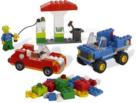 Lego Two Faces Car Part Out Set 6864 bricker part lego 3039pb42 slope 45 2 x 2 with windows