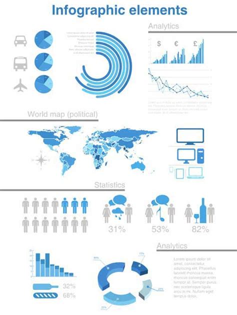 template infographic infographic template kits in editable vector psd format