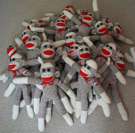 sock monkeys by some new pics including updated sock monkey