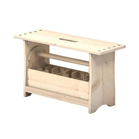 portable workbench  toolbox combo kit   home