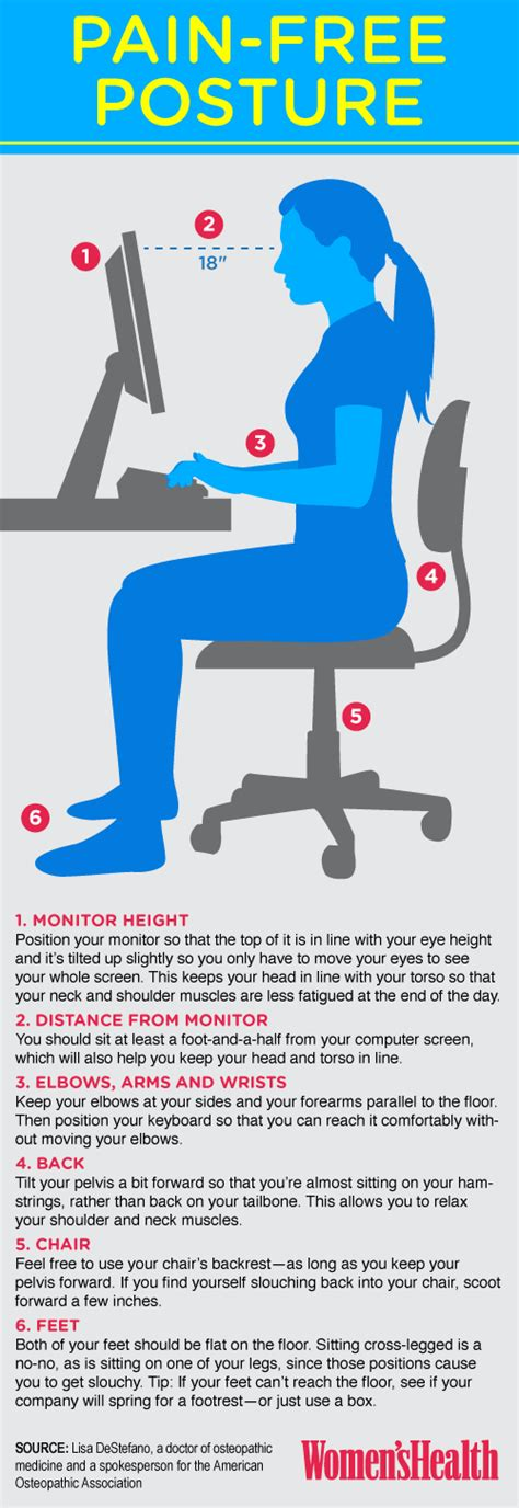 how to a better posture desk posture tips reach your peak