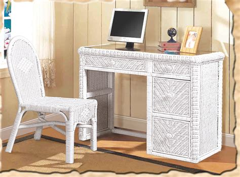 white wicker desk rattan computer desk polynesian computer desk with keyboard tray wayfair hospitality rattan