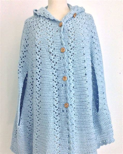 free pattern hooded cape long hooded cape crochet pattern cape crochet and patterns