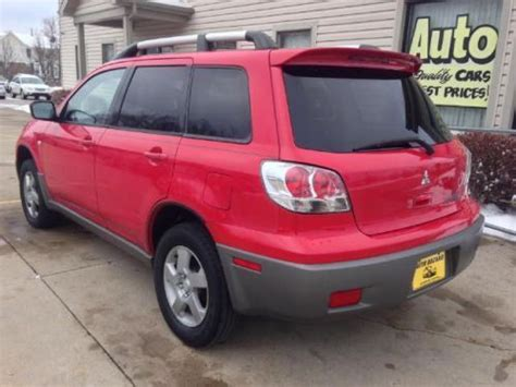 how it works cars 2003 mitsubishi outlander head up display sell used 2003 mitsubishi outlander xls in 8731 cincinnati columbus rd west chester ohio