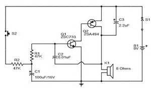 siren circuit diagram using two transistors gadgetronicx