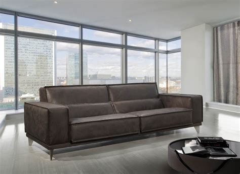 gamma italian leather mokambo leather sofa gamma international italy neo