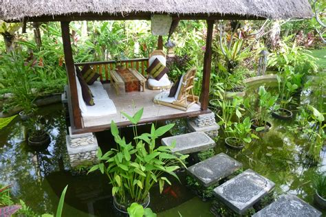 balinese backyard water feature and gazebo inspirations for my balinese