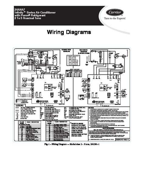 carrier air conditioner wiring diagram carrier 24ana7 2w heat air conditioner manual