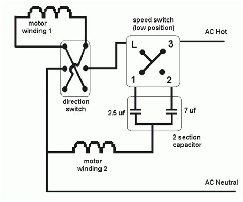 3 speed fan switch schematic schematic 3 speed fan readingrat