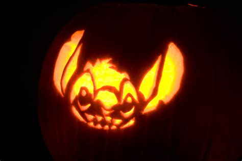 disney pumpkin templates stitch www imgkid com the
