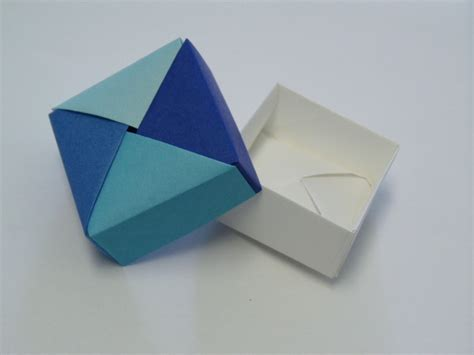 Origami Gifts To Make - origami square gift box