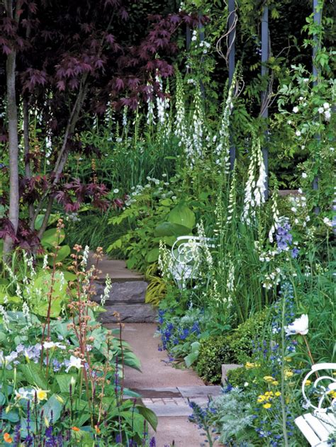 cottage style garden ideas country garden on gardens