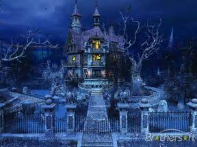 pin download haunted house wallpaper cool halloween on