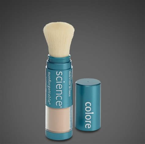 color science sunforgettable sunforgettable mineral sunscreen brush spf 50