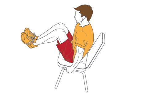 reverse chair crunch coach