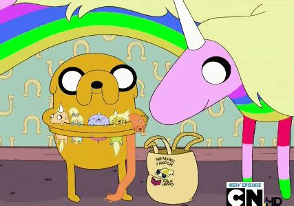 adventure time jake s puppies image jake and his puppies and beemo gif adventure time wiki
