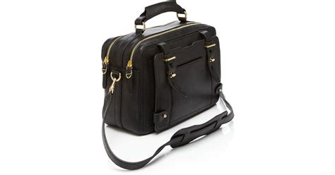 Aigner Revolve etienne aigner satchel pebbled stag in lyst