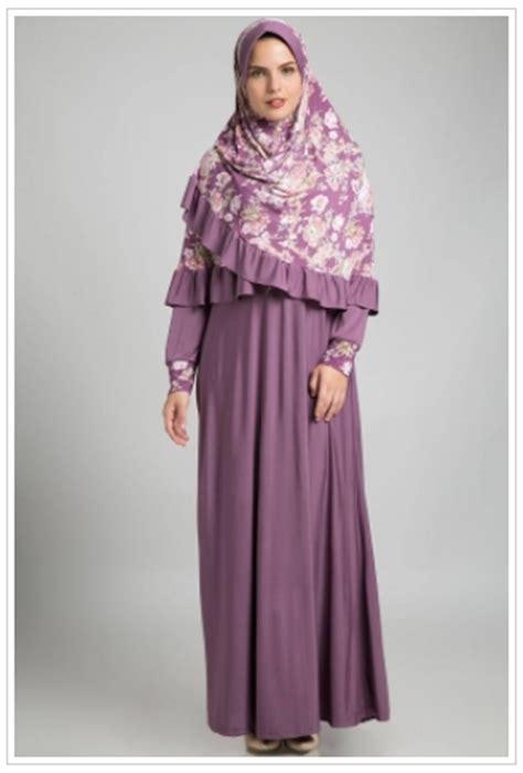 Nabila Set Stelan Fashion Wanita Muslimah Terkini Baju Pesta G model busana muslim wanita pendek