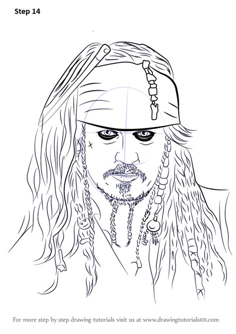 how to draw jack sparrow easy step by step characters pop culture step by step how to draw captain jack sparrow