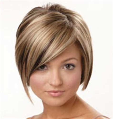 haircuts with shorter hair near face 10 layered bob haircuts for round faces bob hairstyles
