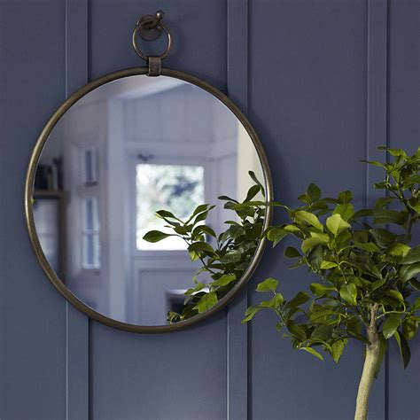 where to hang mirrors indar hanging mirror and hook by rowen wren