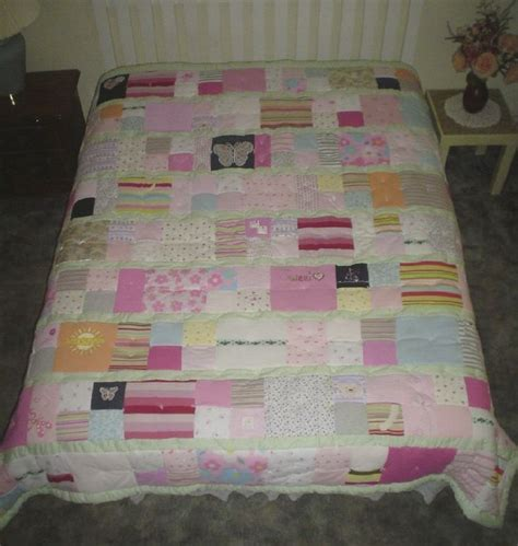 Quilts From Baby Clothes by 17 Best Images About Quilt From Baby Clothes On
