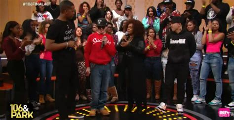 blind fury 106 and park bet s 106 and park ends with freestyle friday jin