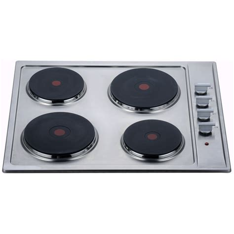 top electric cooktops bellini 60cm 4 burner electric cooktop bunnings warehouse
