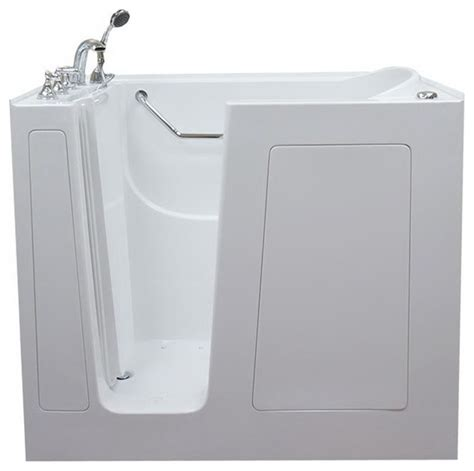 extra deep bathtubs extra deep walk in tub white left hand soaking modern