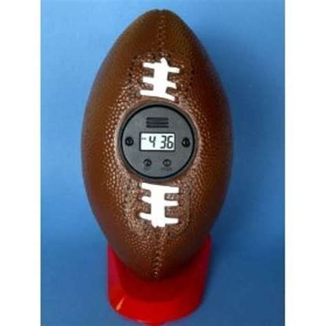 alarm clocks for sports nuts the throw alarm clock lets you relive your days