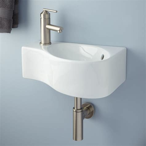 bathroom sink wall mount porcelain wall mount bathroom sink signaturehardware com