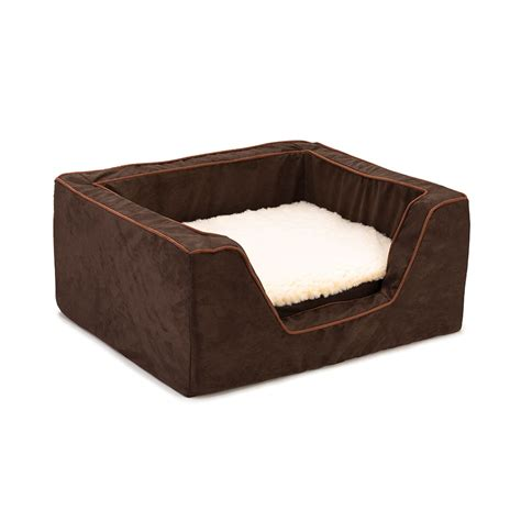 dog beds with cover replacement cover snoozer luxury square dog bed with