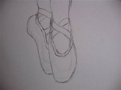 how to draw ballet slippers how to draw ballet shoes with pictures ehow