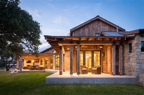 rustic texas home plans llano ranch rustic porch austin by cornerstone