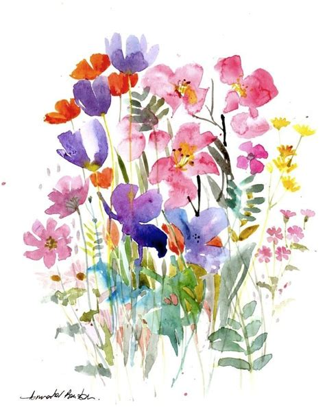 watercolor tutorials on pinterest the 25 best ideas about watercolor flowers tutorial on
